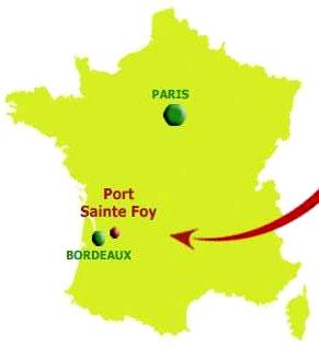 Situation Castang - La Pomme du Périgord - Sud-Ouest